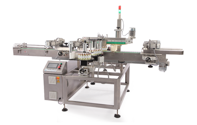 FRONT AND BACK BOTTLE LABELLING MACHINE